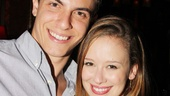 Carrie stars Derek Klena and Molly Ranson are eager to get a listen to the recording they worked so hard on.