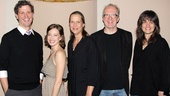 Madison Dirks, Carrie Coon, Amy Morton, Tracy Letts and director Pam MacKinnon take a cheerful company photo. See the cast of Whos Afraid of Virginia Woolf? duke it out at the Booth Theatre beginning September 27!