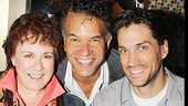 Tony winners Judy Kaye and Brian Stokes Mitchell join Tony nominee Will Swenson for a quick photo.