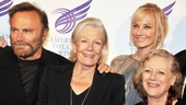 American Theatre Wing honoree Vanessa Redgrave is flanked by her husband, actor Franco Nero, daughter Joely Richardson and sister-in-law Kika Markham (widow of actor Corin Redgrave). 