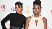 Condola Rashad and Adepero Oduye (Annelle) have become close friends, as well as Steel Magnolia co-stars. Both ladies are rocking their red carpet looks!