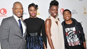 Young stars Tory Kittles, Condola Rashad, Adepero Oduye and Justin Martin gather for a photo.