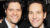 Bring It On co-composer Tom Kitt is on hand at the Copacabana to support his pal, Paul Rudd.