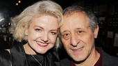 Broadway vets Alison Fraser and Joe Grifasi are no strangers to opening night parties!