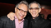 Lewis Black gets some opening night support from fellow comedian and Law & Order: SVU star Richard Belzer.