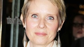 Tony winner Cynthia Nixon brought the drama to the show—just look at those earrings!