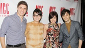 Carrie vets Derek Klena, Jen Sese join Andy Mientus and his Smash co-star Krysta Rodriguez for a cute pic.