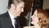 We did it! Dan Stevens and Jessica Chastain are officially Broadway stars.