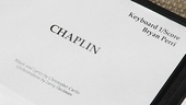 Chaplin  Cast recording  score