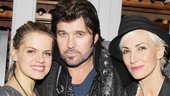 Three&#39;s company! Chicago stars Amy Spanger, Billy Ray Cyrus and Amra-Faye Wright make an arresting trio.