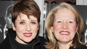 Chicago music director Leslie Stifelman (l.) shares a photo with associate producer Alecia Parker.