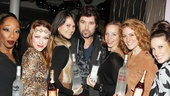 Billy Ray Cyrus is swarmed by Chicago's band of Merry Murderesses.