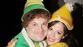 Aww! Jordan Gelber's Buddy and Leslie Kritzer's Jovie find love in Elf.