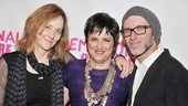 Tony winner Eve Ensler (c.) turned to director Jo Bonney and composer Charl-Johan Lingenfelder to help bring her emotional play to life.
