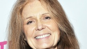 Feminist icon Gloria Steinem, who has collaborated with Eve Ensler, is on hand to celebrate her friend's new work.