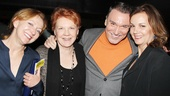 Tony winner Julie White takes in the festivities with Tony nominee Beth Fowler, Patrick Page (currently appearing in Cyrano de Bergerac) and Margaret Colin.