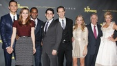 Cheyenne Jackson, Alicia Silverstone, Daniel Breaker, director Evan Cabnet, playwright David West Read, Jenni Barber, Henry Winkler and Ari Graynor are ready to party like they're in...well...Las Vegas on opening night!