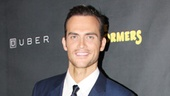 Cheyenne jackson looks downright dashing at the opening night party.