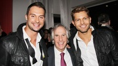 The Amazing Race duo Jaymes Vaughn and James Davis found their way to Broadway and the prize is…Henry Winkler!