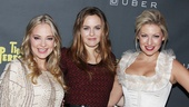 The Longacre's lovely ladies! Jenni Barber, Alicia Silverstone and Ari Graynor enjoy the opening night party.