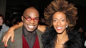 Stanley Wayne Mathis and Karine Plantadit both appeared in the opening night cast of The Lion King.