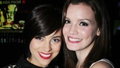 Talented gals Krysta Rodriguez and Jennifer Damiano look stunning.