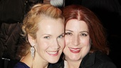 Erin Dilly bonds with Once star Anne L. Nathan.