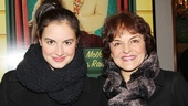 A Christmas Story Opening Night  Priscilla Lopez  Gabriela Fanuele