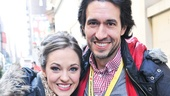 Cinderella at Macy&#39;s Parade - Laura Osnes - Josh Rhodes 