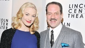 Yvonne Strahovski is more than happy to share the excitement of making her Broadway debut with co-star Danny Mastrogiorgio.