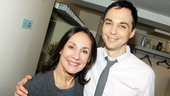 Emmy winners and Tony nominees Laurie Metcalf and Jim Parsons play mother and son on The Big Bang Theory.