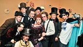 Chita Rivera stands out like a shining star with the studly men of Edwin Drood, including Kyle Coffman, Nick Corley, Justin Greer, Spencer Plachy, Eric Sciotto, Jim Walton, Andy Karl, Peter Benson, Will Chase and Robert Creighton.