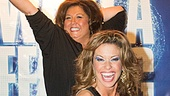 I Love Rak 'n' Roll video blogger Rachelle Rak, who plays Tess in Flashdance, has some fun on the red carpet with her pal, Dance Moms reality star, Abby Lee Miller.