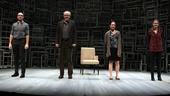 Happy opening! The Other Place stars John Schiappa, Daniel Stern, Laurie Metcalf and Zoe Perry bask in the thunderous applause from the crowd.