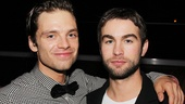 Gossip Girl star Chace Crawford reunites with Sebastian Stan, who appeared on the first three seasons of the CW drama.