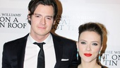 Stars Scarlett Johansson and Benjamin Walker bring heat to the red carpet.