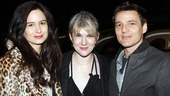 Acting trio Katherine Waterston, Lily Rabe and Pedro Pascal are familiar faces in the Theatre District.
