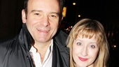 Matthew Warchus and Lauren Ward, director and the star of the upcoming, Matilda get a taste of opening night excitement.