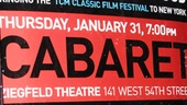 Cabaret 40th Anniversary  Poster