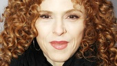 Broadway baby Bernadette Peters steps inside the Kit Kat Klub for the celebration.