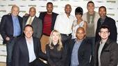 'Motown' Meet and Greet — Doug Morris — Berry Gordy — Kevin McCollum — Bryan Terrell Clark — Patricia Wilcox — Warren Adams — Brandon Victor Dixon — Valisia LeKae — Charl Brown — Charles Randolph-Wright — Ethan Popp