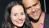 In the Heights lovers Mandy Gonzalez and Christopher Jackson look as adorable as ever.