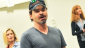 Tony nominee Hunter Foster comes center stage as the confident winner from last years contest, Benny Perkins.