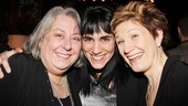 The Madrid  Opening Night  Jayne Houdyshell  Leigh Silverman  Lisa Kron