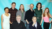 Christopher Durang and Nicholas Martin join the cast for a final photo. See Vanya and Sonia and Masha and Spike at Broadway&#39;s Golden Theatre beginning March 5.