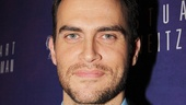 Looking as dapper as ever, Broadway fave Cheyenne Jackson comes out to see the latest from his Xanadu scribe, Douglas Carter Beane.