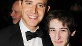 Its a Brighton Beach Memoirs family reunion for Santino Fontana and Noah Robbins.