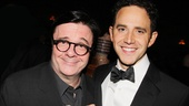 Nathan Lane (The Nance) and Santino Fontana (Cinderella) are the male leads in Douglas Carter Beanes two 2013 Broadway shows.