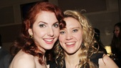 Cinderella star Marla Mindelle parties with SNL funny lady Kate McKinnon.
