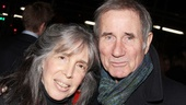 Tony winner Jim Dale (most recently the star of Roundabout's The Road to Mecca) shows off his date, wife Julie Schafler.